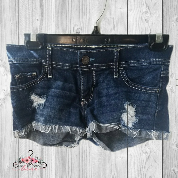 d54dc064f3 Hollister Shorts | Distressed Cut Off Jean | Poshmark